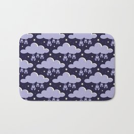 Dreaming bats Bath Mat