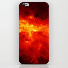 The Painted Space Lava iPhone Skin