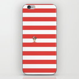 Dude.. I'm right here iPhone Skin