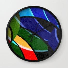 Pattern 2018 005 Wall Clock