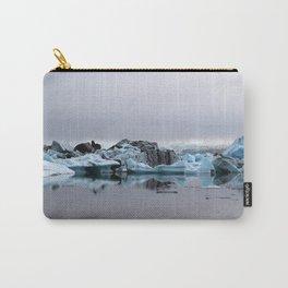 Icebergs at Glacier Lagoon Jökullsárlon Carry-All Pouch