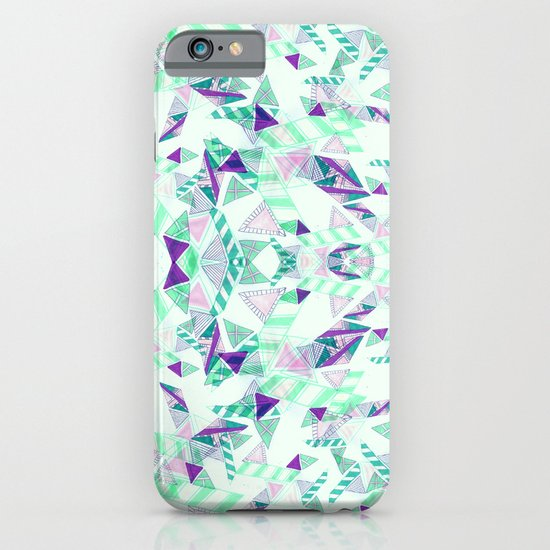 Kaleidoscopic print illustration  iPhone & iPod Case