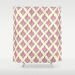 Foxglove pattern design -  Shower Curtain