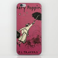 mary poppins iPhone & iPod Skins featuring Mary Poppins by MW. [by Mathius Wilder]