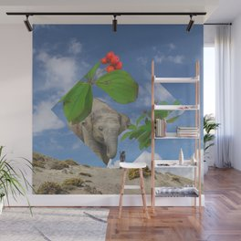 Elephas canadensis Wall Mural