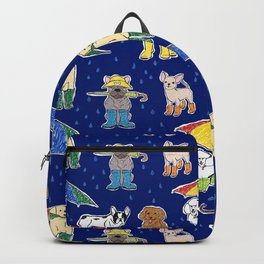 It's Raining Dogs + Dogs Backpack