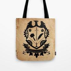 Steampunk Crest Tote Bag