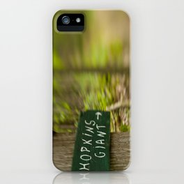 To Hokins Mt iPhone Case