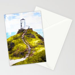 Lighthouse Ynys Llanddwyn - For Lighthouse Lovers Stationery Cards