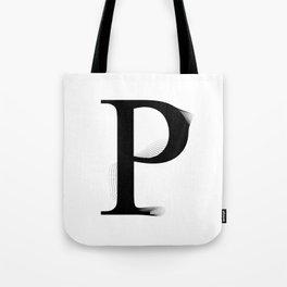 oboTypo _ P Tote Bag