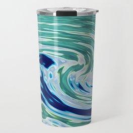 OCEAN ABSTRACT 2 Travel Mug
