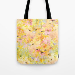 Buttercup Fields Forever Tote Bag