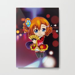 Honoka - Angelic Angel chibi edit. 1 Metal Print