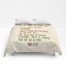 Buddy the Elf! The Code of Elves Comforters