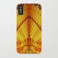 pyramid iPhone & iPod Cases featuring Pyramid by Christine baessler