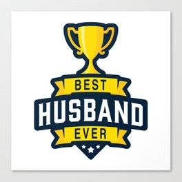 Best Husband Ever Canvas Print