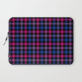 Bisexual Pride Checkered Pride Plaid Laptop Sleeve