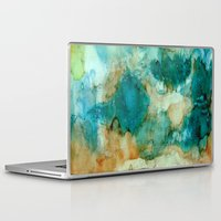 waterfall Laptop & iPad Skins featuring Waterfall by Rosie Brown