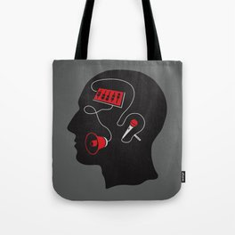 Mixed messages C Tote Bag