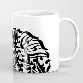 Circular Abstract Type Coffee Mug