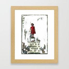 """On the Up & Up"" Framed Art Print"