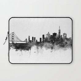 San Francisco Black and White Laptop Sleeve