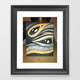 chips and salsa Framed Art Print