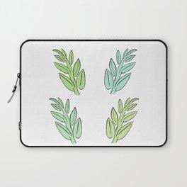 4 Jade Leaves Laptop Sleeve