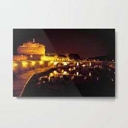 Castel sant'angelo Roma Metal Print