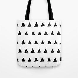 Aztec minimal triangles Tote Bag