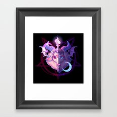 Baphomet (MIXED) Framed Art Print