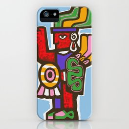 Mexico Aztec or Mayan Travel iPhone Case