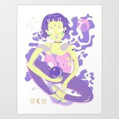 Clara 2.0 Art Print