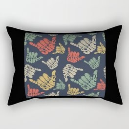 Surf Pattern Rectangular Pillow