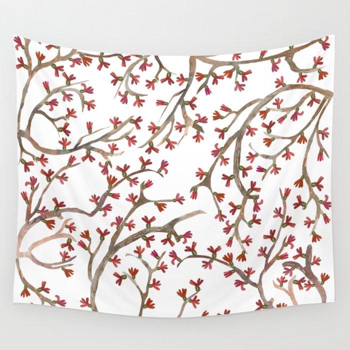Shrub Wall Tapestry