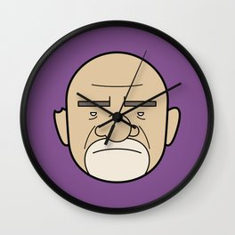 Faces of Breaking Bad: Mike Ehrmantraut Wall Clock
