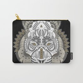 Zentangle Tiger 02  Carry-All Pouch