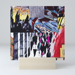 Abstract 50 #5 Mini Art Print