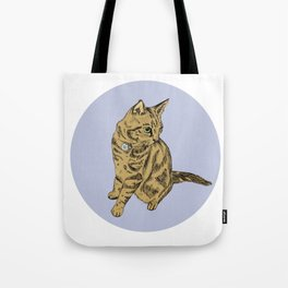 Tilly the Tabby Tote Bag
