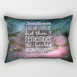 Prove Them Wrong Rectangular Pillow