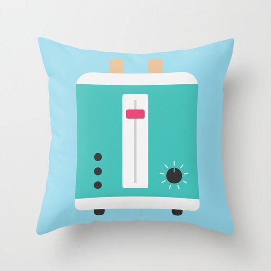 #82 Toaster Throw Pillow