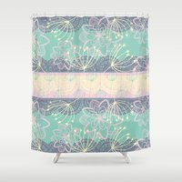 once upon a  time Shower Curtains featuring Once Upon A Time by Alice Perry Designs