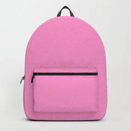 Pale Magenta-Pink - solid color Backpack
