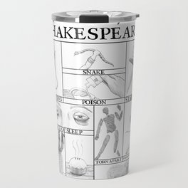 Death by Shakespeare Travel Mug