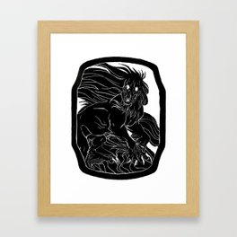 Kalki Framed Art Print