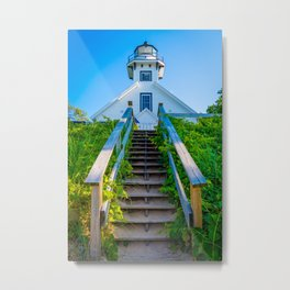 Old Mission Lighthouse, Traverse City Metal Print