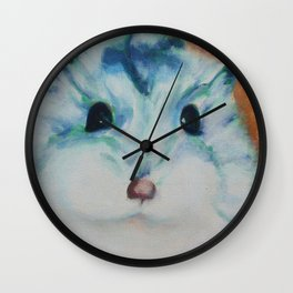 Chippy the Hamster Wall Clock