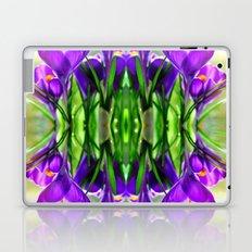 Crocus dance Laptop & iPad Skin