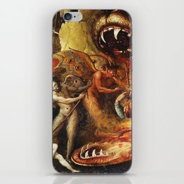 Demons and creatures iPhone Skin