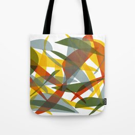 Abstract Whale / Abstract Snail Tote Bag